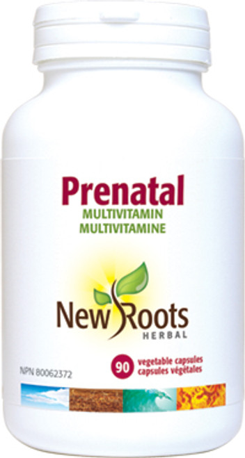 New Roots Herbal: Prenatal Multivitamin (90 Vegetable Capsules)