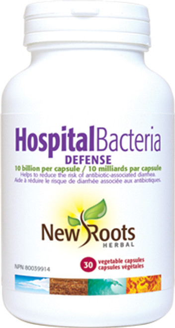 New Roots Herbal: Hospital Bacteria Defense (30 Vegetable Capsules)