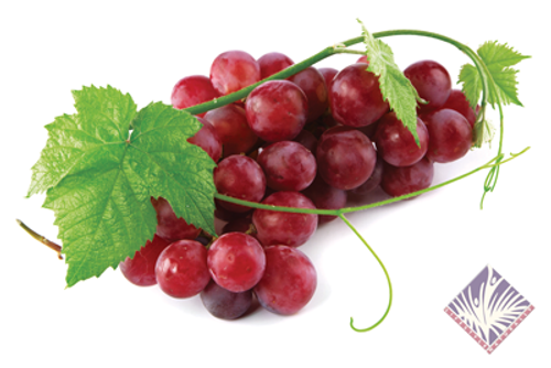 Certified Organic Seedless Red Grapes (1kg)