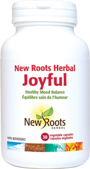 New Roots Herbal: Joyful (30 Vegetable Capsules)