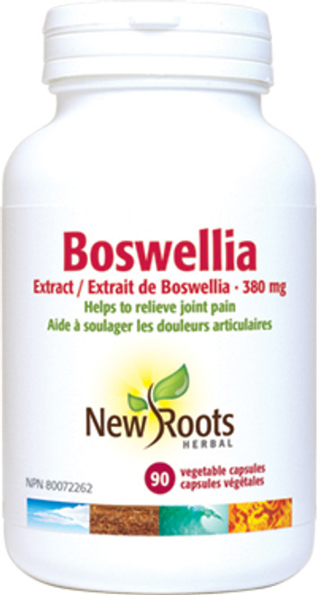 New Roots Herbal: Boswellia (90 Vegetable Capsules)