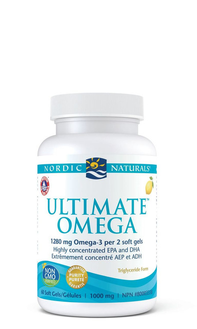 Nordic Naturals: Ultimate Omega - Lemon (1000mg) (60 Soft Gels)