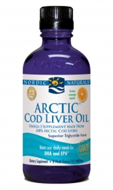 Nordic Naturals: Arctic Cod Liver Oil Liquid - Orange (237ml)