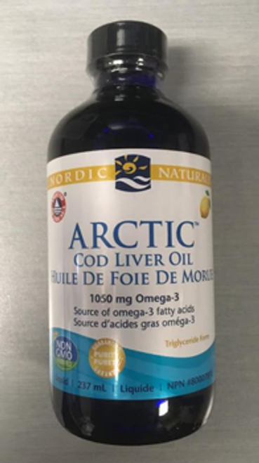 Nordic Naturals: Arctic Cod Liver Oil (1050 mg) Omega - 3 - Lemon (237mg)
