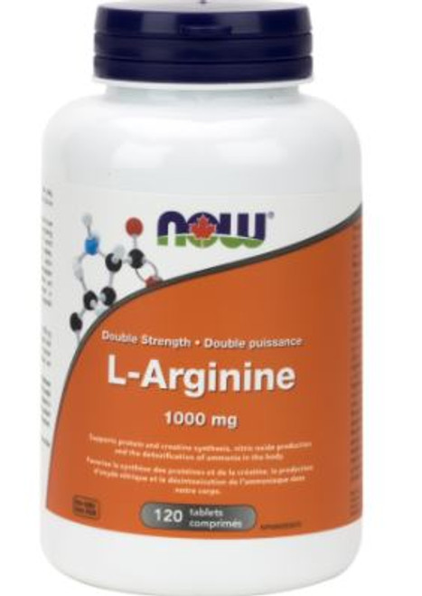 Now: L-Arginine (1000mg) (120 Tablets)