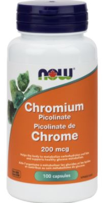 Now: Chromium Picolinate (200 mcg) (100 Capsules)