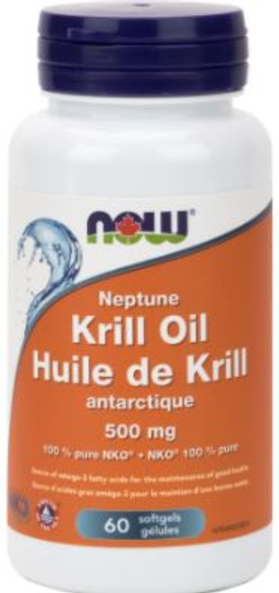 Now: Neptune Krill Oil (500mg) (60 SoftGels)