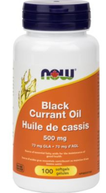 NOW: Black Currant Oil (500mg) (100 Soft Gels)