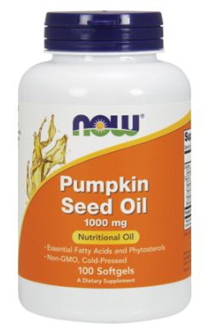 Now: Pumpkin Seed Oil (100 Softgels)