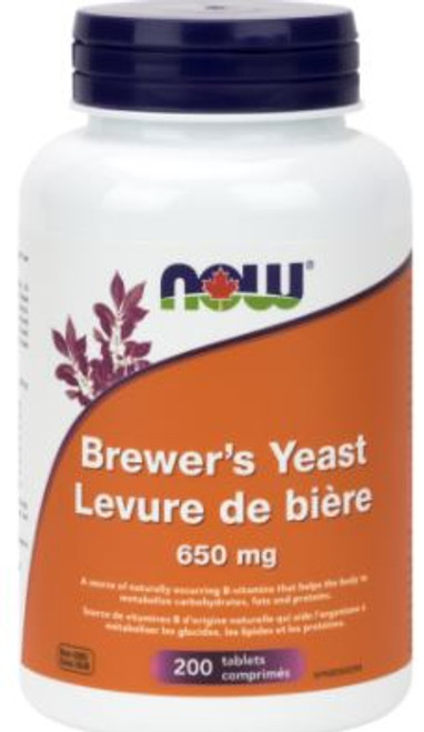 Now: Brewer's Yeast (650mg) (200 Tablets)