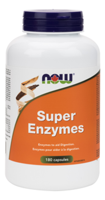 Now: Super Enzymes (180 Capsules)