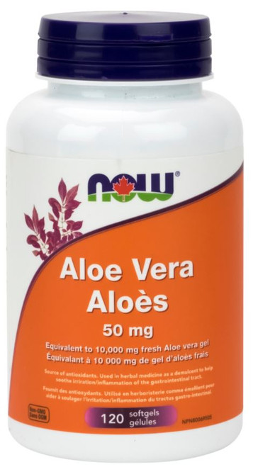 Now: Aloe Vera (25mg) (120 SoftGels)
