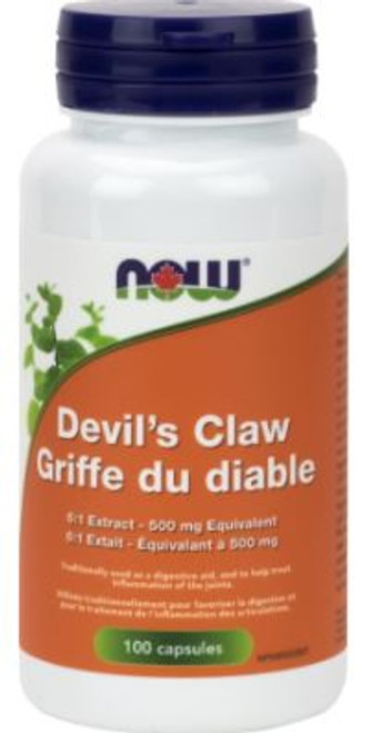 Now: Devil's Claw (6:1 Extract - 500mg) (100 Capsules)
