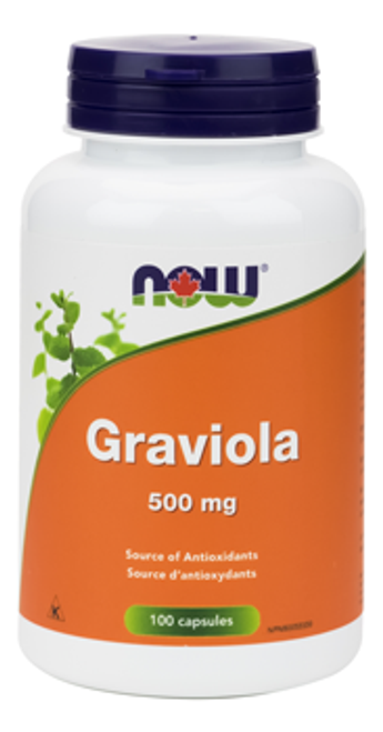 Now: Graviola (500mg) (100 Vegetable Capsules)