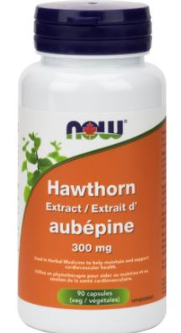 Now: Hawthorn Extract (300mg) (90 Vegetable Capsules)