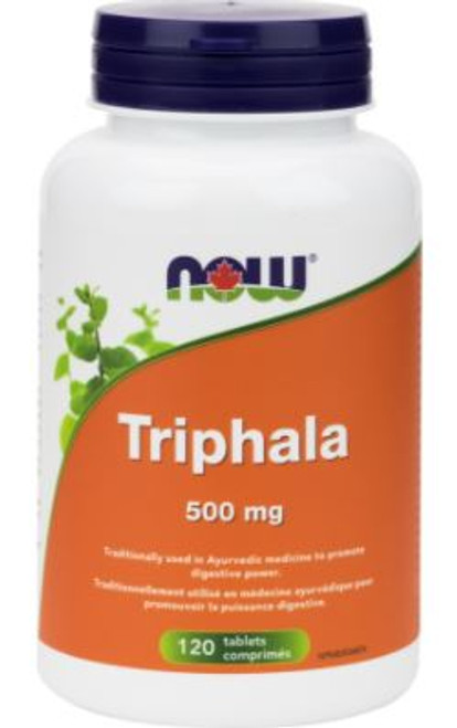 Now: Triphala (500mg) (120 Tablets)