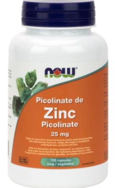 Now: Zinc Picolinate (25mg) (100 Capsules)