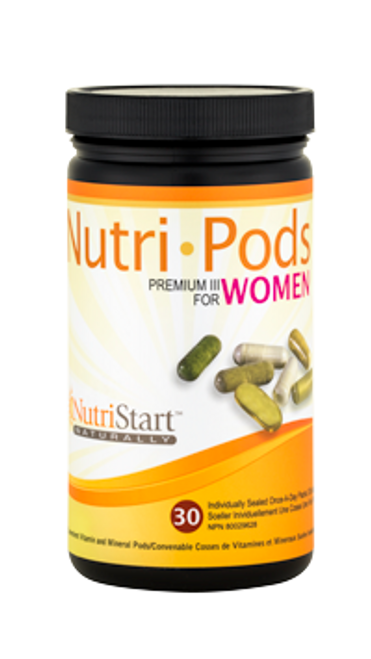 NutriStart: Nutri-Pods for Women Premium III (30-Day)
