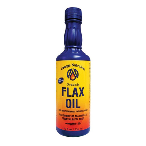 Omega Nutrition: Flax Seed Oil (355ml)