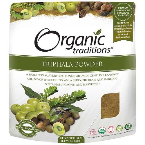 Organic Traditions: Triphala Powder (200g)