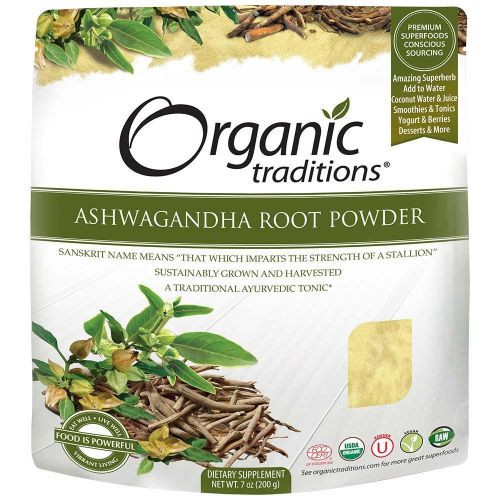 Organic Traditions: Ashwagandha Root Powder (200g)