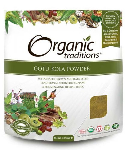 Organic Traditions: Gotu Kola Powder (200g)