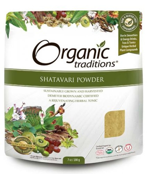Organic Traditions: Shatavari Powder (200g)