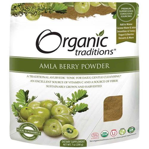 Organic Traditions: Amla Powder (200g)
