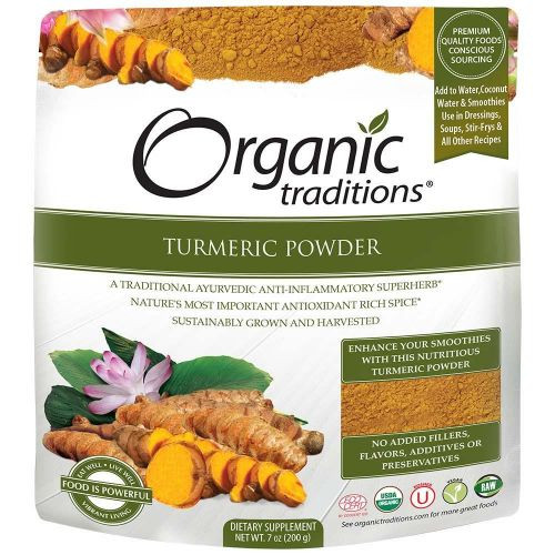 Organic Traditions: Organic Turmeric Powder (200g)