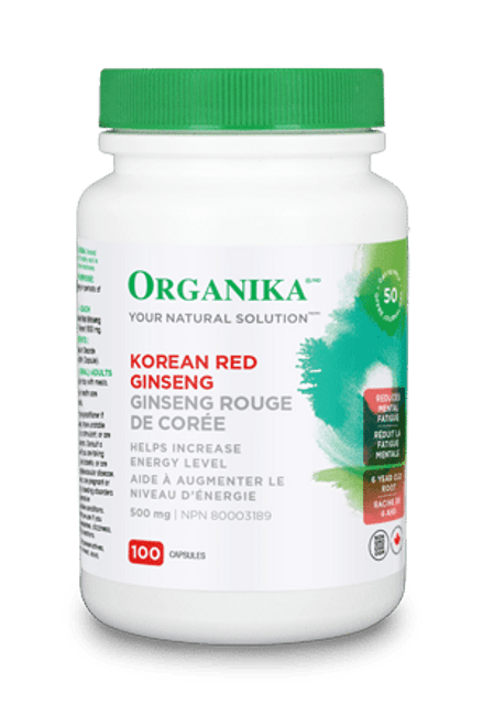 Organika: Korean Red Ginseng