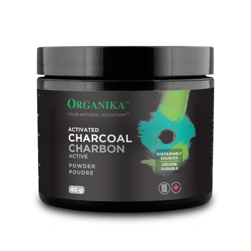 Organika: Activated Charcoal (40g)