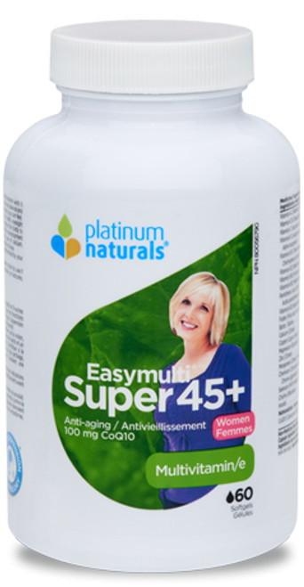 Platinum Naturals: Easymulti Super 45+ Women's Multiviamin (60 Softgels)