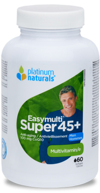 Platinum Naturals: Easymulti Super 45+ Men's Multivitamin (60 Softgels)