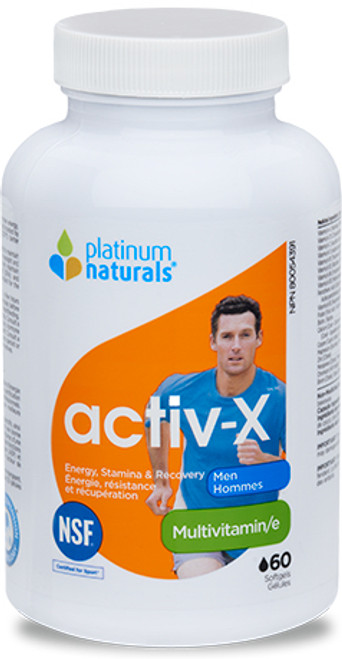 Platinum Naturals: activ-x Multivitamin - Men (60 SoftGels)
