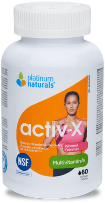 Platinum Naturals: activ-x Multivitamin - Women (60 SoftGels)