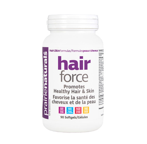 Prairie Naturals: Hair Force (90 Softgels)