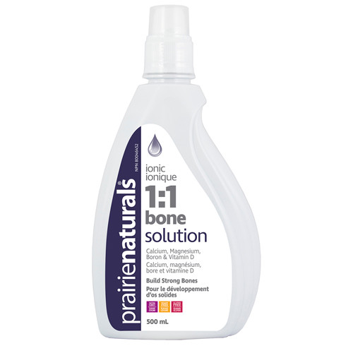 Prairie Naturals: Bone Solution 1:1 (500ml)