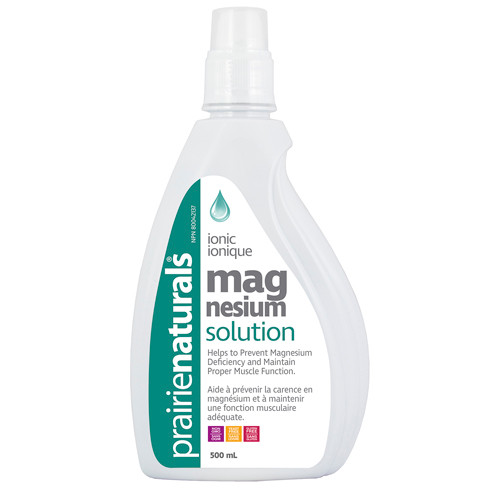 Prairie Naturals: Magnesium Solution (500ml)