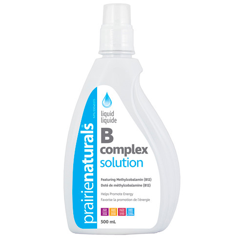 Prairie Naturals: Vitamin B Complex Solution (500ml)