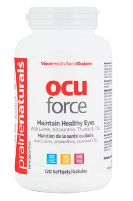 Prairie Naturals: Ocu-Force (120 Softgels)