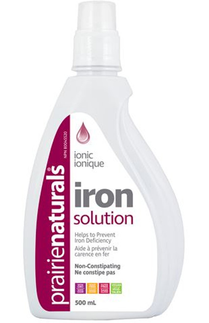 Prairie Naturals: Liquid Iron Solution (500ml)