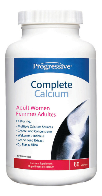 Progressive: Complete Calcium Adult Women (60 Caplets)