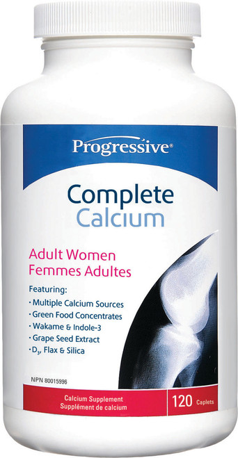 Progressive: Complete Calcium Adult Women (120 Caplets)
