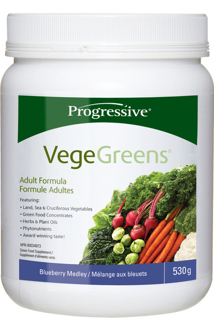 Progressive: VegeGreens - Blueberry Medley (530g)
