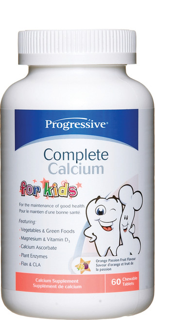 Progressive: Complete Calcium for Kids (60 Chewable Tablets)