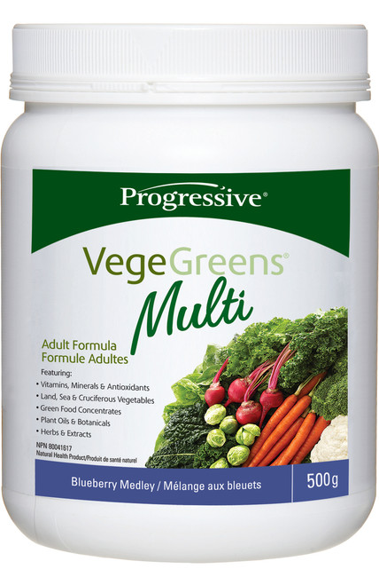 Progressive: VegeGreens Multi - Blueberry Medley (500g)
