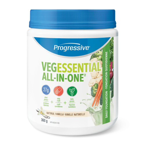 Progressive: VegEssential All-in-One - Vanilla (360g)