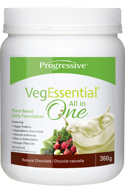 Progressive: VegEssential All-in-One - Chocolate (360g)