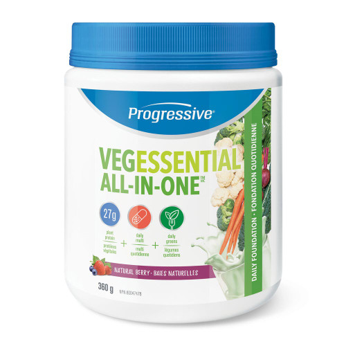 Progressive: VegEssential All-in-One - Berry (360g)