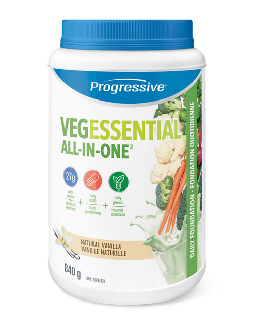 Progressive: VegEssential All-in-One - Vanilla (840g)